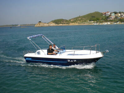 Boat for the trip made in turkey