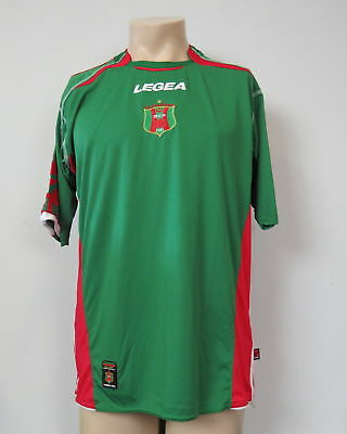 MC Alger 2006-08 home shirt Legea soccer jersey size L