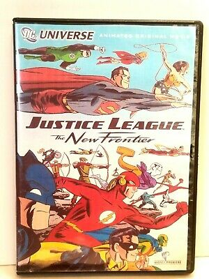 Justice League: The New Frontier DVD New (other)