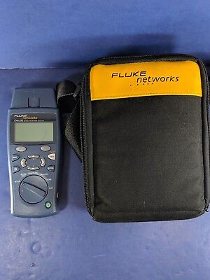 Fluke Cable IQ Qualification Tester CableIQ, Good, Case