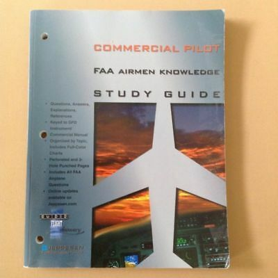 9d3c906ca88 COMMERCIAL PILOT FAA AIRMEN KNOWLEDGE STUDY GUIDE (2000 - Paperback ...