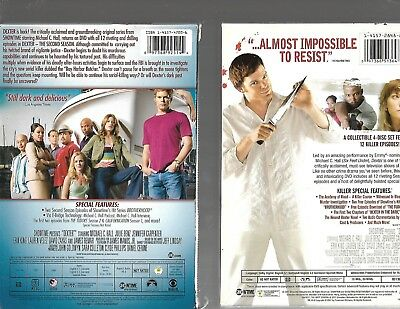 Dexter - The complete First & Second Seasons (1 & 2) DVD