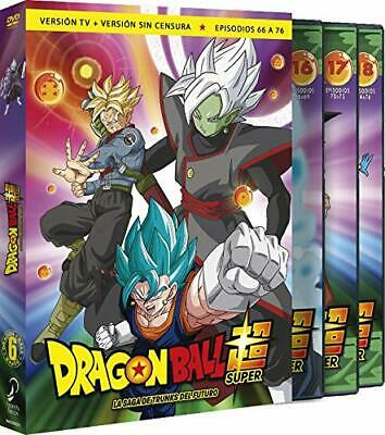 Dragon Ball Super Box 6 Saga DVD TRUNKS FUTURO DVD  ESPAÑOL CASTELLANO NUEVO