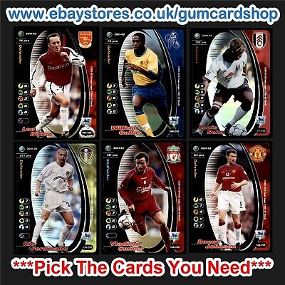 Wizards of the Coast 2001/2002 English Football (1-99) *Please Choose Cards*