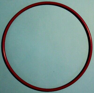 5 JOINTS TORIQUE CAOUTCHOUC ROUGE / 5 O-RINGS RED RUBBER 205x219x7 mm