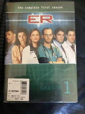 ER - The Complete First Season (DVD, 2011, 7-Disc Set)