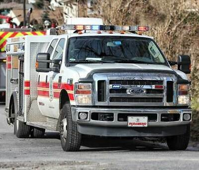 Ford F350 Xlt 4X4 Diesel Ems Paramedic Rescue Police Whelen Led Msrp $150,000 🚑