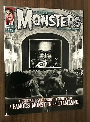 FAMOUS MONSTERS OF FILMLAND #250 -- June 2010 -- NM- or Better -- B