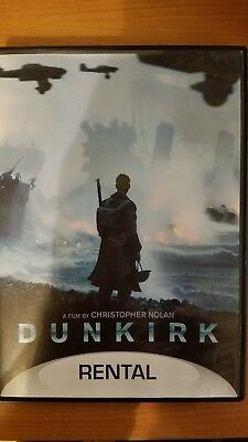 Dunkirk (DVD, 2017, rental edition), very good condition