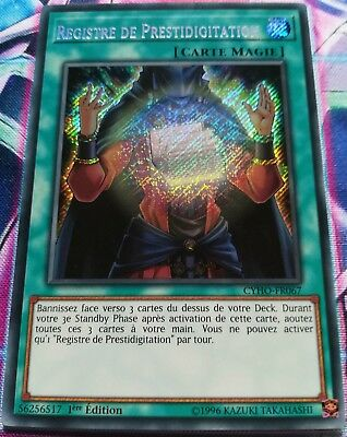 Registre de Prestidigitation (CYHO-FR067) SECRETE RARE 1ère Edition