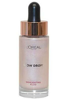 L'OREAL Glow Drops HIGHLIGHTING FLUID Liquid Highlighter PINK CHAMPAGNE Shimmer