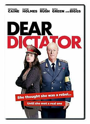 NEW!!! Michael Caine, Katie Holmes, Dear Dictator (DVD, 2018) With Slipcover