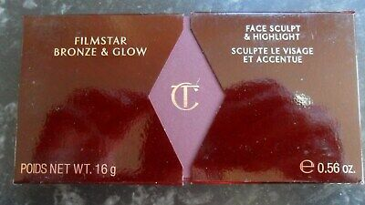 Charlotte Tilbury Filmstar Bronze And Glow Brand New 16G Face Sculpt & Highlight