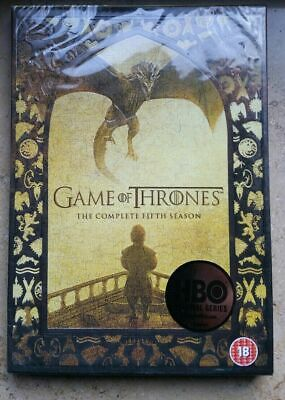 Game of Thrones Complete Season 5 New/sealed UK Region 2 DVD Box Set free post