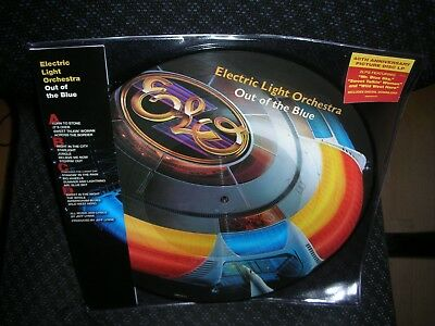 Elo ( Electric Light Orchestra ) *Out of the Blue *NEW PICTURE RECORD LP VINYL