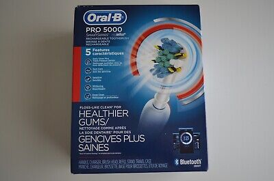 Oral-B Pro 5000 SmartSeries Power Rechargeable Electric Bluetooth Toothbrush