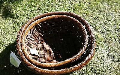Marks and Spencer Rattan baskets set of two Brand new