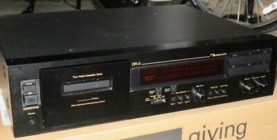 Nakamichi DR3 Two head cassette deck excellent condition