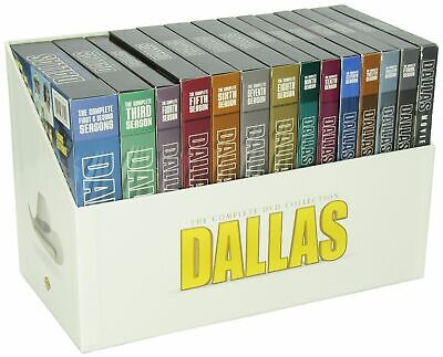 Dallas The Complete Series Collection Seasons 1-14 + 3 Movies [DVD Set 57-Disc]