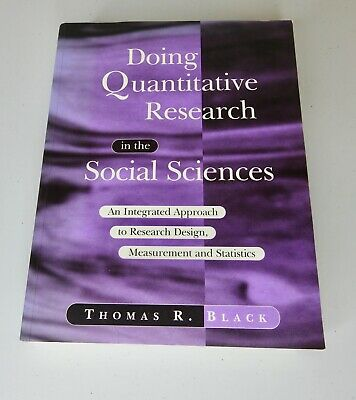 Doing Quantitative Research in the Social Sciences: An Integrated Approach
