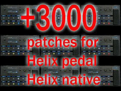 LINE 6 HELIX - Patches / Presets for Line 6 HELIX, LT