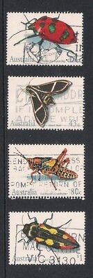 Australia used stamps - Australian Beetles, fine used