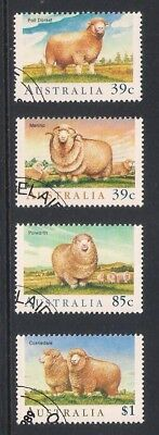 Australia used stamps - Australian Sheep Breeds, fine used