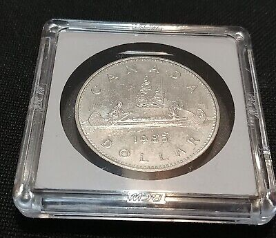 1985 Canada Nickel One Dollar Canadian Gem Uncirculated Coin as Issued