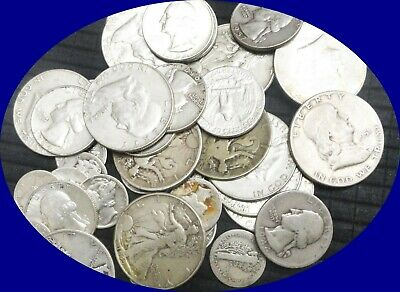 ✯1 oz OUNCE 90% SILVER U.S. COINS✯ ESTATE SALE LOT HOARD 1964 & before