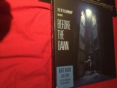 Kate Bush Before The Dawn Very Rare 4 X Lp Vinyl Sealed Box Set + 6 Confetti...