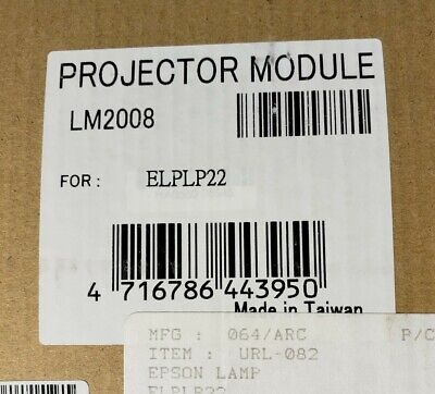 EPSON ELPLP22 Projector Lamp-bulb for PowerLite 7800p, 7850p, 7900NL and Others