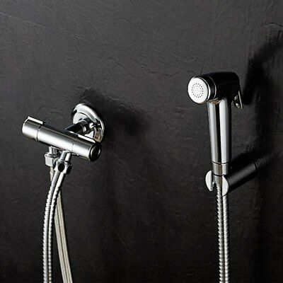 Double Modus Bidet Spray Hand Portable Bidet Shower with 1 in 2 out Brass