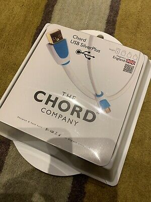 The Chord Company USB SilverPlus Audiophile 0.75m Cable