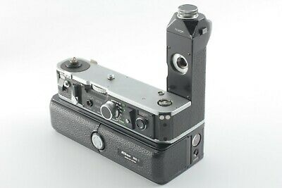 【EXC+5】 Nikon MD-2 Motor Drive & MB-1 Battery Pack for Nikon F2 from JAPAN #102