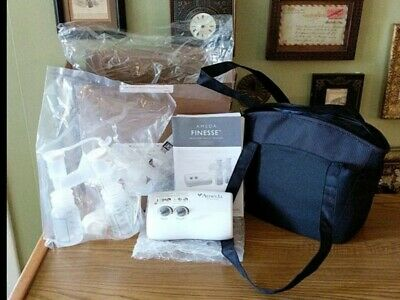 Ameda Finesse - Double Electric Breast Pump Bundle - Minnie Tote - 101A04