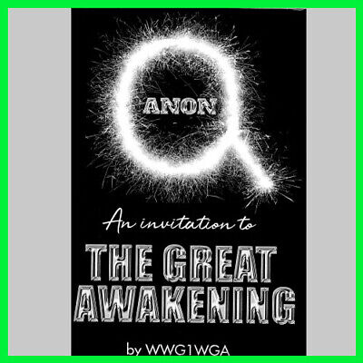 QAnon An Invitation to The Great Awakening (E-book) {PDF}⚡Fast Delivery(10s)⚡