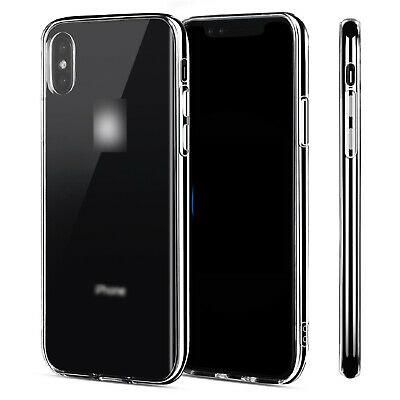For Apple iPhone X Xs Max / XR Case Crystal Clear Slim Light Shockproof Cover