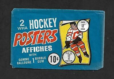 1973-74 Opc (O-Pee-Chee) Wha Hockey Posters Wax Pack Wrapper, .10¢,