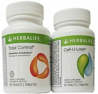 Herbalife Total Control Cell U Loss Combo Kit Lot 90 Tablets Each