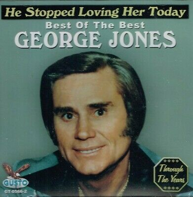 "GEORGE JONES New CD ""HE STOPPED LOVING HER TODAY - Best Of The Best""  COUNTRY"