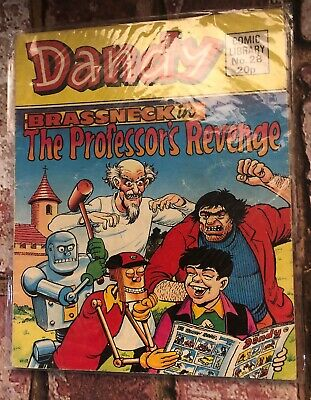 Dandy Comic Library #28 - Brasskneck in The Professors Revenge