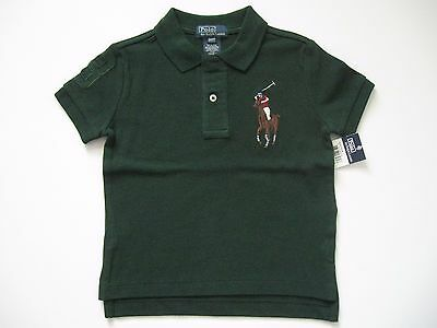 POLO by RALPH LAUREN Little Boy's Multicolored Big Pony Polo Shirt 2/2T