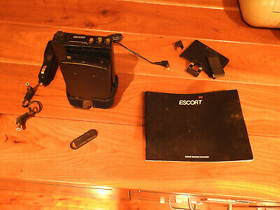 Passport Radar Detector >> Vintage Escort Passport Radar Detector Bundle By Cincinnati Microwave