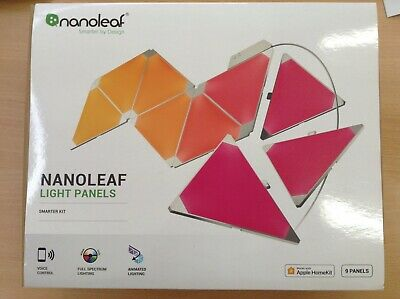 #663 BRAND NEW nanoleaf aurora light panel 9 panels NL22-0005TW-9PK