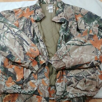 632fa5fca2d3c Outfitters Ridge Mens Real Tree Camouflage Lined Jacket Coat Size XL (46-48)