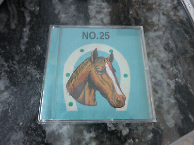 BERNETTE FOR BERNINA NO.25 Horses Deco EMBROIDERY CARD Tested