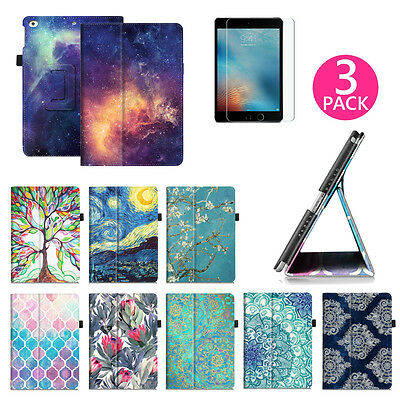 For Apple iPad 9.7 Inch 6th Generation 2018 Folio Leather Case Cover Stand