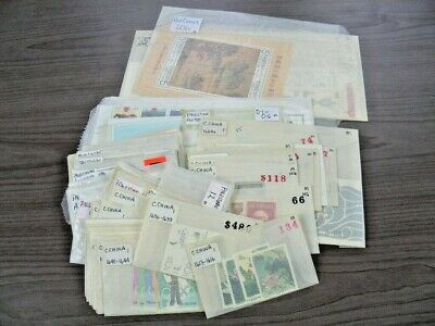 CHINA, PALESTINE AUTHORITY, Excellent Accumulation of MINT Stamps & others in