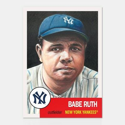 2018 Topps Living Set * BABE RUTH * Card #100 * New York Yankees