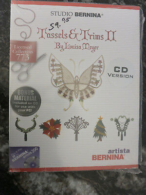 Bernina Tassels & Trims Ii By Louisa Meyer Collection 773 Cd Version Embroidery